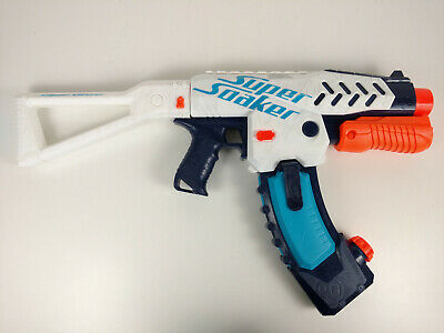 NERF SUPER SOAKER SWITCH SHOT Water Gun Squirt w Stock and 20 Oz. Mag WORKS