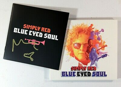 Simply Red - Blue Eyed Soul (Limited CD + Booklet Signed by Mick Hucknall) New