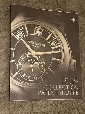 2019 Patek Philippe Watch Collection Book Brochure Pristine Condition Brand New