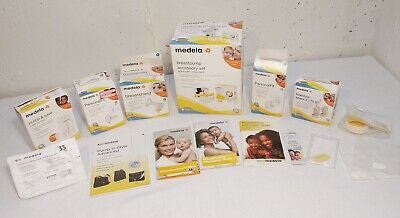 Large Lot of New (open box) Medela Breast Pump Accessories