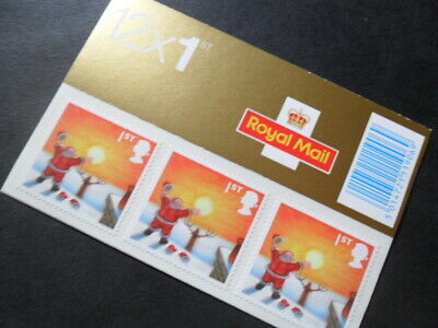 Royal Mail - Christmas 2004 12 First Class Mint Stamp Booklet  (2019 FV £8.40)