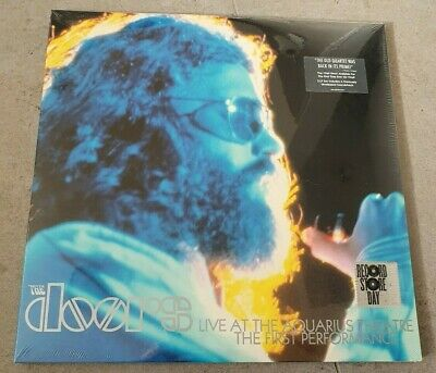 The Doors - Live At The Aquarius - 3 Lp Coloured Vinyl - Numbered - Sealed - Rsd