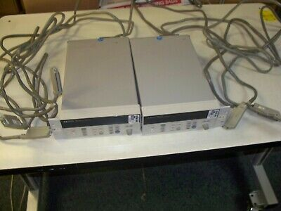Agilent HP 34970A Data Acquisition Data Logger Switch Unit + 3 modules