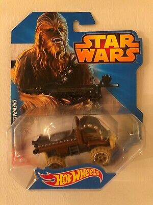 Hot Wheels Star Wars Chewbacca Truck Brown 1:64 Loose