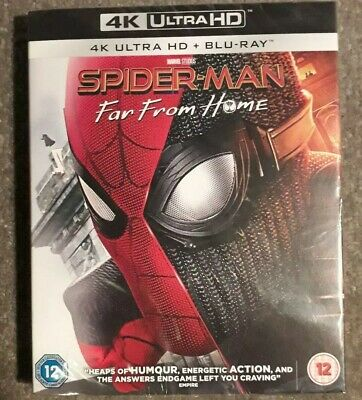 Spider-Man: Far From Home 2019 (4K Ultra HD + Blu-ray) including card slipcase
