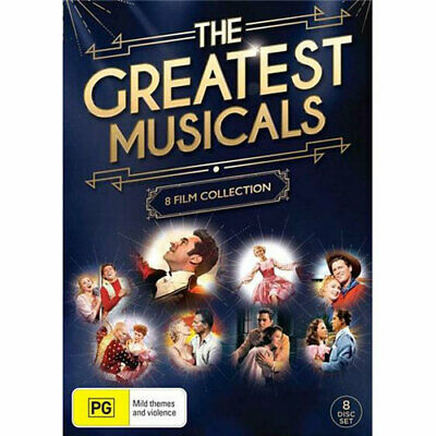 The Greatest Musicals: 8 Film Collection (Greatest Showman/Sound of Music/Carous