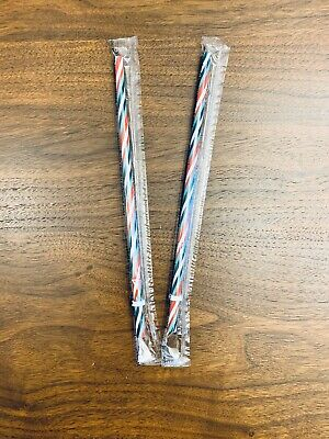 BRAND NEW - Starbucks - 2019 - Holiday Reusable Straw - Red/Green/White - TWO