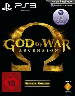 PS3 Spiel - God of War: Ascension #Special Edition DEUTSCH mit OVP / Steelbook