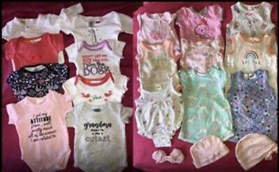 Baby Girl Clothes Bundle - 20 Pieces In Size 0000