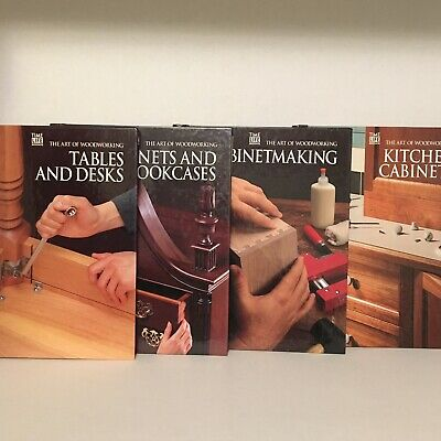 4 Art of Woodworking, Kitchen Cabinets, Cabinetmaking, Tables & Desks, Bookcases