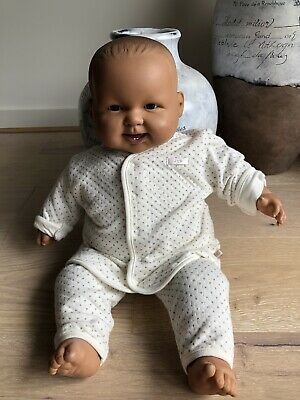 BERINGUER LARGE BROWN   BABY  DOLL - Soft Torso. NEVER BEEN PLAYED WITH
