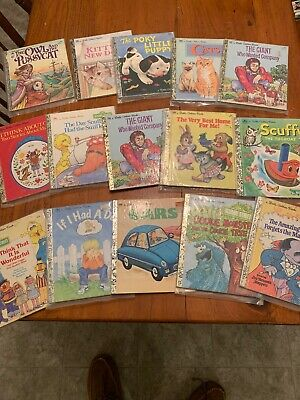 "Little Golden Books Mixed Lot of 15 Walt Disney ** Look ** ""F"""