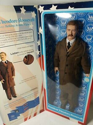 Theodore Roosevelt #26 President of the USA Talking Action Figure Toypresidents