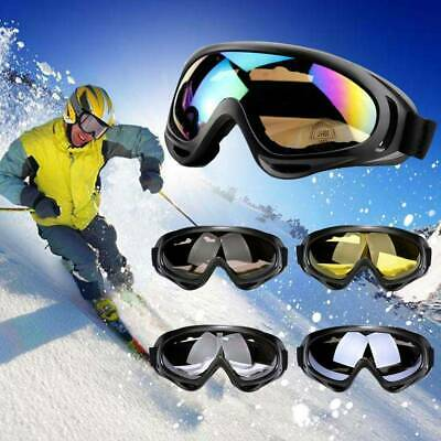 Safety Goggles Eye Protective Over Glasses Anti-Fog Skiing Eyewear Dust Proof