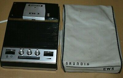 Grundig EW3 Dictaphone Tape Voice Recorder Electronic Notebook
