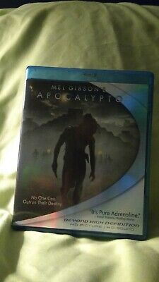 Apocalypto Blu-ray disc Mint condition Mel Gibson film Mayan 2012 oop rare