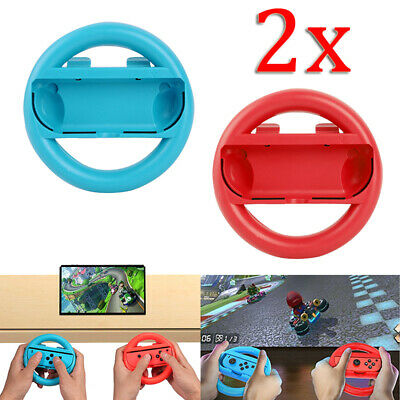 2-Pack For Nintendo Switch-Joy-Con Steering Wheel Grip Game Controller Gamepad