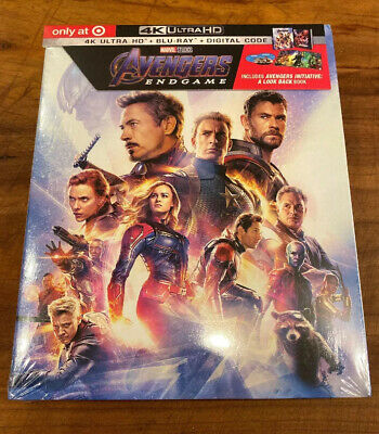 Avengers Endgame (Target Exclusive) (4K Ultra HD + Blu-ray) Digital Code Include
