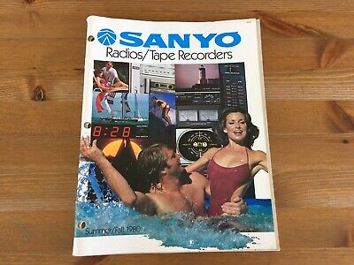 Vintage Sanyo Boombox Catalogue Only