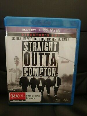Straight Outta Compton (Blu-ray, 2018) ICE CUBE EAZY E DR DRE