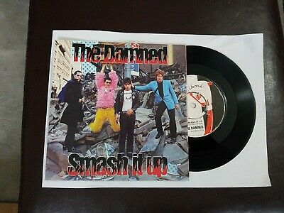 The Damned  Smash It Up  7 Inch Vinyl PUNK