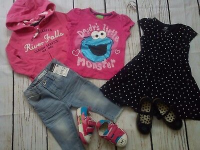 33x NEXT GAP BABYK SUMMER NEW USED BUNDLE OUTFITS BABY GIRL 18/24 MTHS(3.3)
