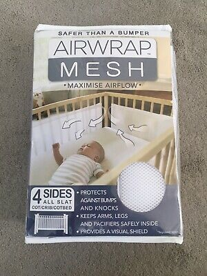 Airwrap Mesh - 4 Sided Breathable Cot Bumper
