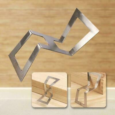 Stainless Steel Z-shaped Dovetail Mortise Gauge Carpentry Tool 1:5 1:6 1:7 1:8
