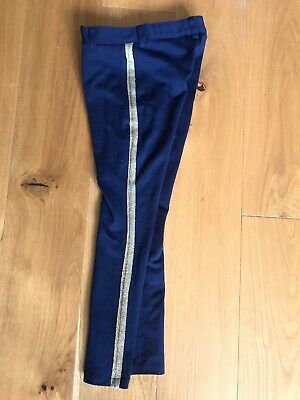 Tommy Hilfiger Girls Trousers, Single Gold Stripe Size 6 (small)