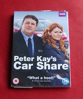 Peter Kay's Car Share - Series 1 - NEW & SEALED R2 DVD - Peter Kay, Sian Gibson