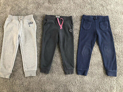 Girls Jogging Bottoms Bundle Age 4 Gap, Next, Osh Kosh B'gosh