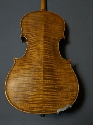 Late 1800's Antique Highly Figured American Made Violin by E. Babington