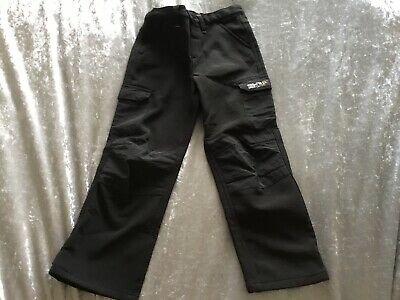 Girls Black Trousers From Regatta Outdoors Ages 3-4 Years
