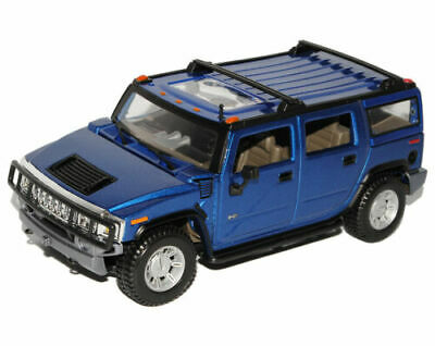 Hummer H2 SUV Blue 2003-2010 1/27 1/24 Maisto Model Car with or without Indivi