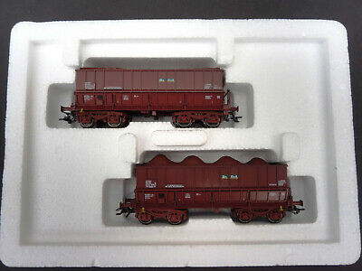 "Märklin HO: 48447 Wagen-Set /""on-Rail/"" OVP TOP 2 Erztransport-Wagons SNCB"