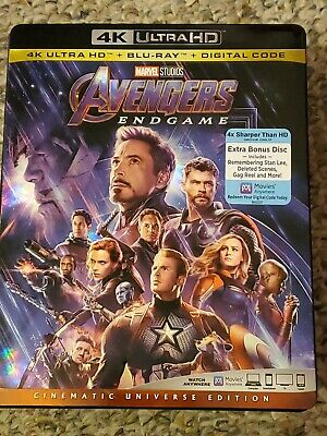 Avengers Endgame (4K Ultra HD + Blu-ray)