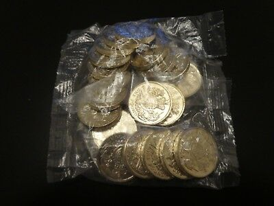 SEALED BAG OF 20x Royal Arms 5th Portrait Uncirculated UK 2015 £1 Coins