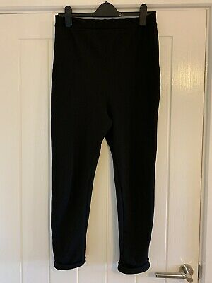 Two Pairs Of Maternity Trousers Under Bump Size 12 Asos