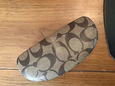 Coach Eyeglasses Case With Cleaning Cloth