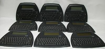 Lot of 9 ** PARTS ONLY ***AlphaSmart NEO2 Portable Word Processor