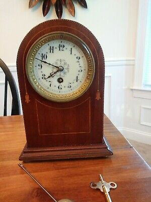 Beautiful Antique French Mantle Clock