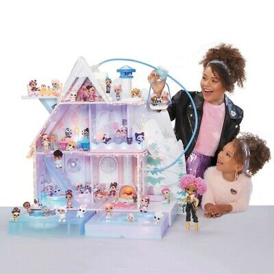 LOL Surprise Winter Disco Chalet Doll House