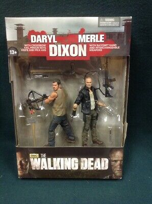 The Walking Dead Daryl Merle Dixon Action Figure Series 4 Twd Nip Mcfarlane 2013