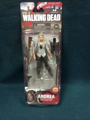 The Walking Dead Andrea Action Figure Series 4 Twd Mcfarlane 2013 Nip Amc