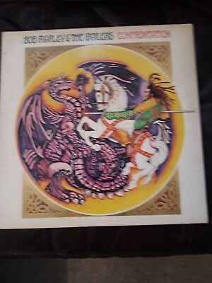 bob marley and the wailers lp confrontation tuff gong ilps 9760 gatefold sleeve