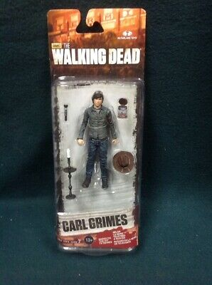The Walking Dead Carl Grimes Action Figure Series 7 Mcfarlane 2015 Twd Amc Nip