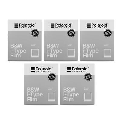 Polaroid Originals B&W i-Type Film (5-Pack)