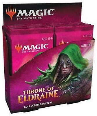 Throne of Eldraine Collector Booster Box of 12 Packs (MTG) Sealed MTG Magic