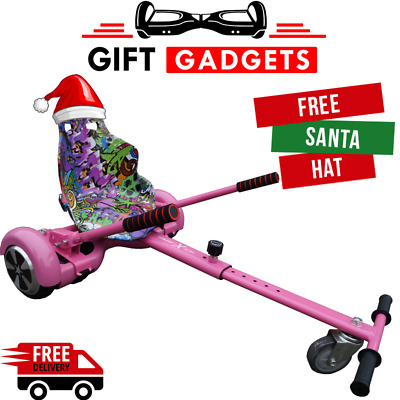 Official Gift Gadgets Graffiti Camo Hoverkart Go Kart For Board + FREE XMAS HAT