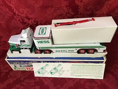 "1995 Hess ""Toy Truck And Helicopter"" New In Box With Card-Helicopter Not Working"